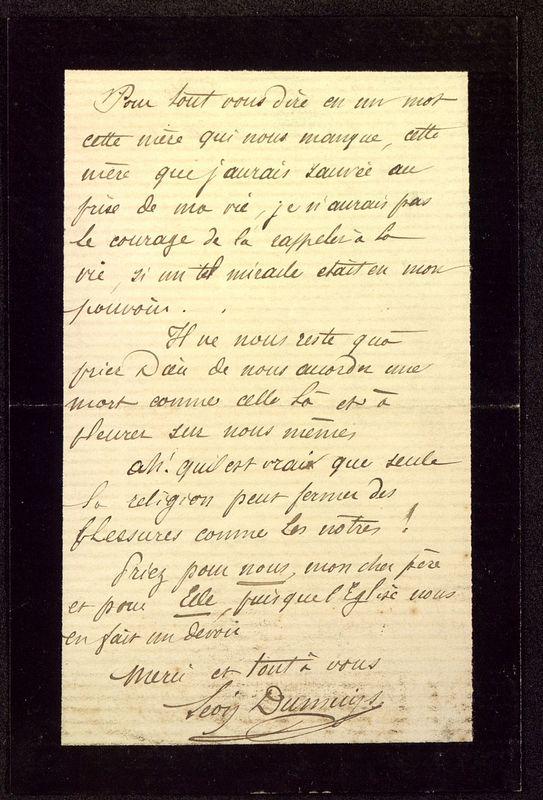 Visuel du media #4 - Lettre de Dumuÿs à De La Croix du 14 décembre 1885, page 4