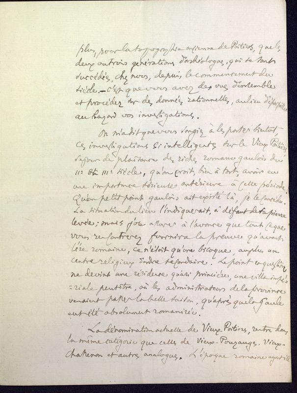 Visuel du media #7 - Lettre de Fillon à De La Croix du 14 novembre 1879, page 5