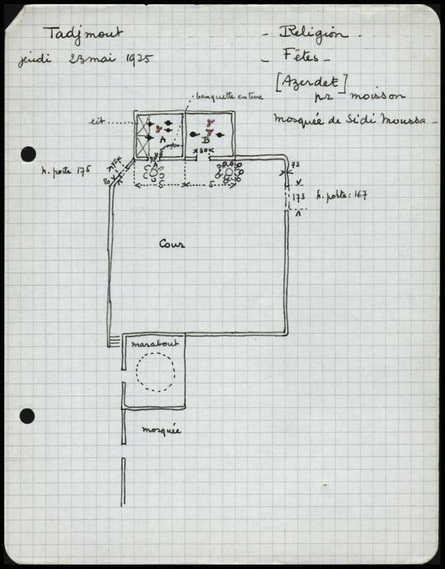 Visuel du document Notes 4-4. Fêtes, naissance, circoncision, religion, mariage
