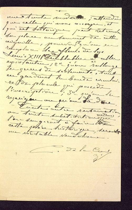 Visuel du media #4 - Notes manuscrites sur une croix, page 3