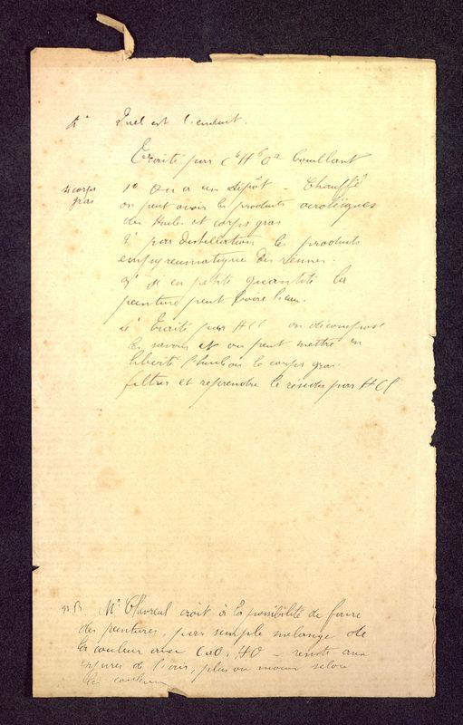 Visuel du media #12 - Notes peinture, Baptistère Saint-Jean, page 2