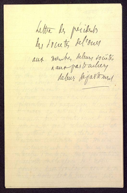 Visuel du media #11 - Lettre de Berthelé à De La Croix du 16 mai 1884, page 5