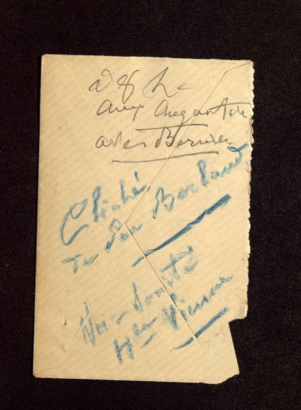 Visuel du media #2 - Enveloppe de Hild à De La Croix, page 2