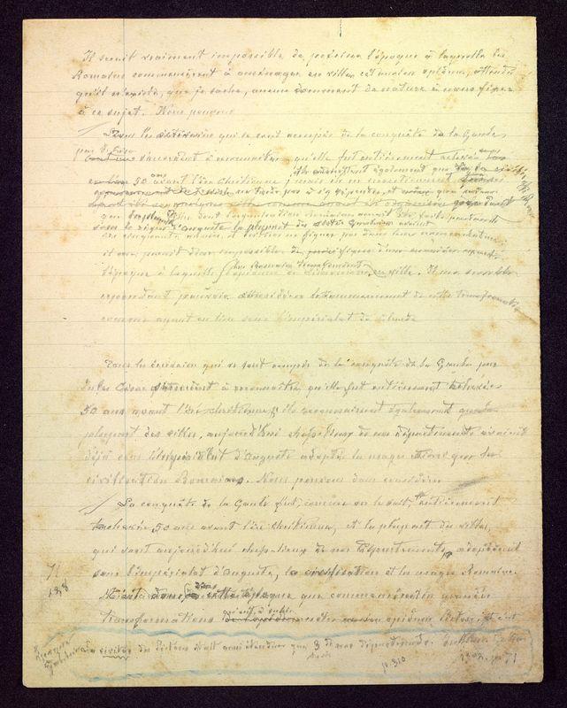 Visuel du media #10 - Manuscrit sur le Palais de Justice, page 4