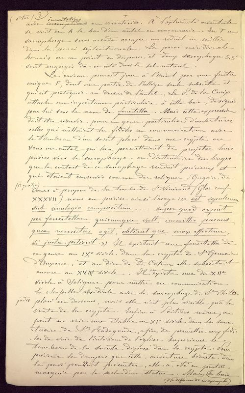 Visuel du media #11 - Observations sur le monument de Mellebaude à Poitiers, page 3