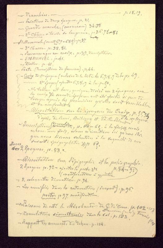 Visuel du document Notes manuscrites sur l'hypogée des Dunes à Poitiers 07