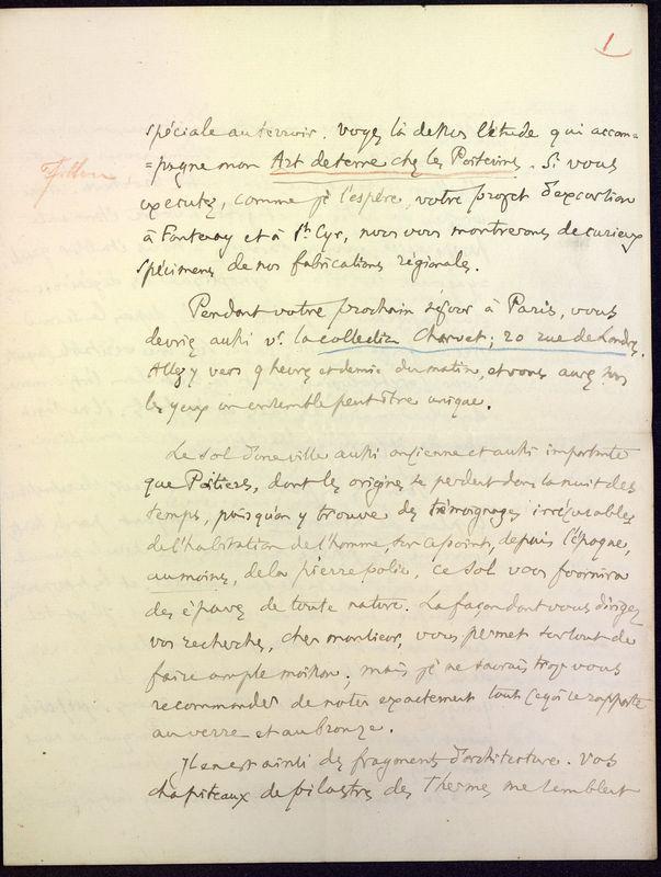 Visuel du media #5 - Lettre de Fillon à De La Croix du 14 novembre 1879, page 3