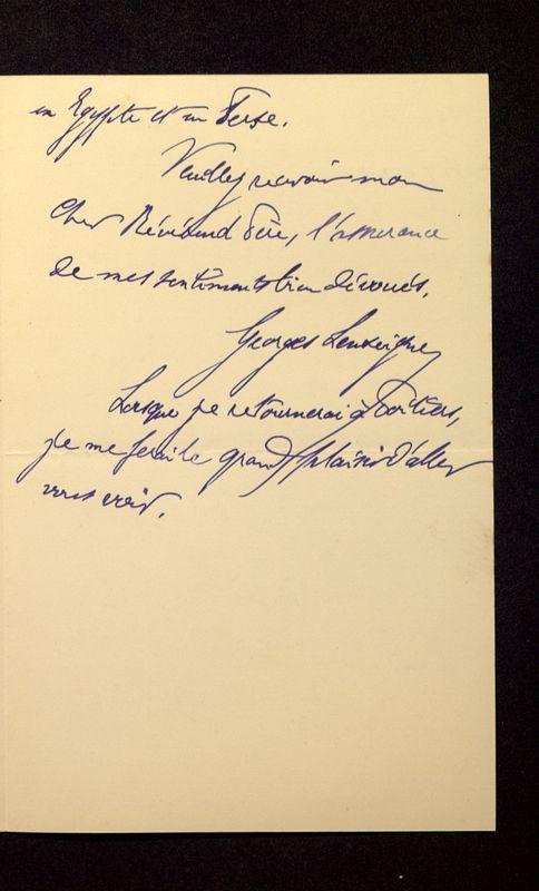 Visuel du media #9 - Lettre de Lenseigne à De La Croix du 10 juillet 1905, page 3