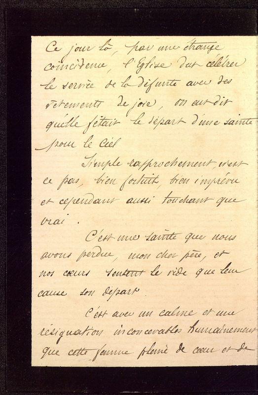 Visuel du media #2 - Lettre de Dumuÿs à De La Croix du 14 décembre 1885, page 2