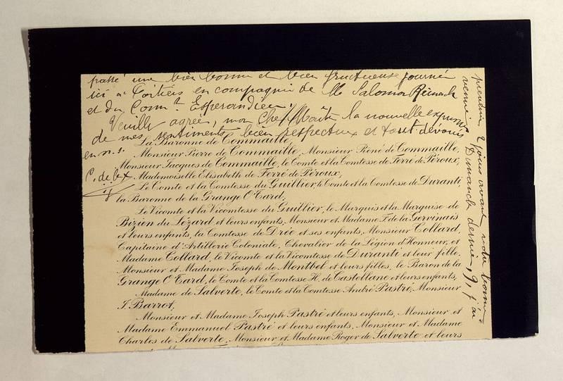 Visuel du media #12 - Lettre de De La Croix à Jullian du 12 juillet 1906, page 2