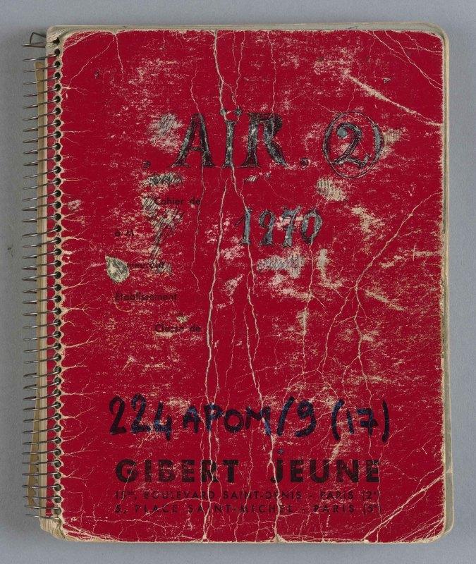 Visuel du document Cahier 17, matériaux relatifs à l'Aïr 2 (Niger), 1970