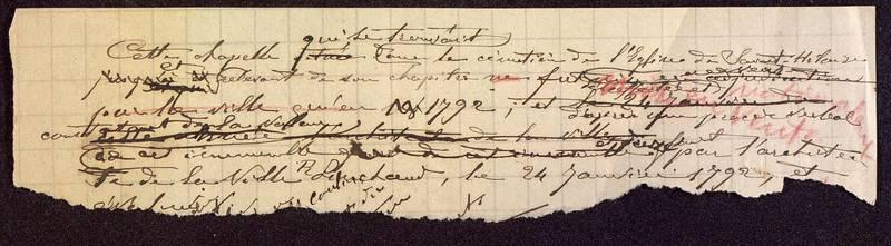 Visuel du media #9 - Notes sur la chapelle de l'église de Sainte-Hilaire, Poitiers