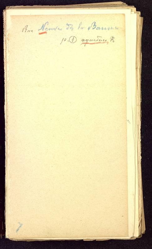 Visuel du media #9 - Fichier de notes sur les rues de Poitiers, page 9