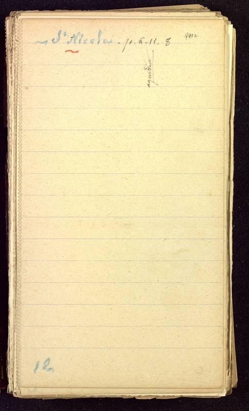Visuel du media #3 - Fichier de notes sur les rues de Poitiers, page 3