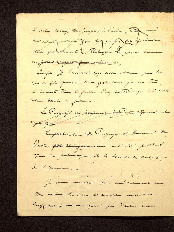 Visuel du media #7 - Lettre de De La Croix à Reinach du 24 janvier 1898, page 2