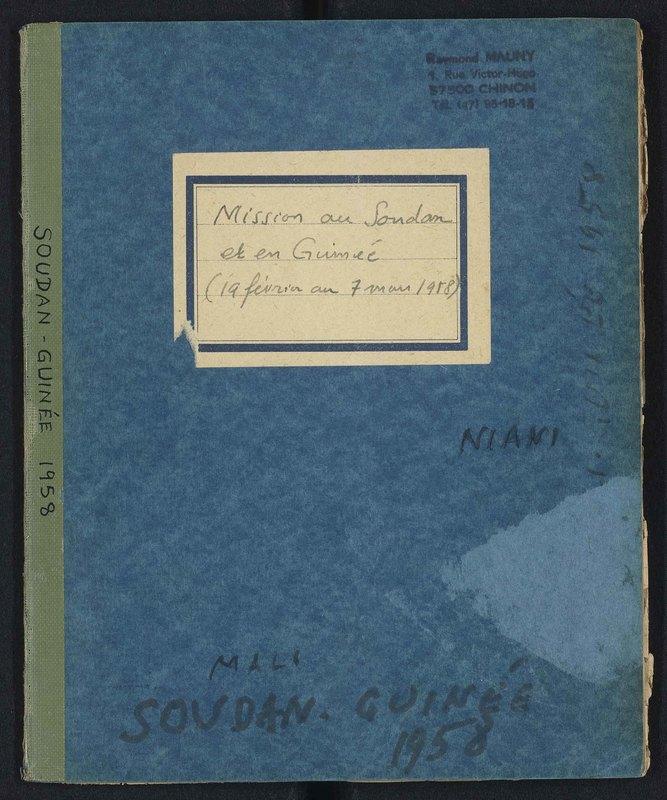 Visuel du document Mission au Soudan et en Guinée, Niani, 19 février - 7 mars 1958
