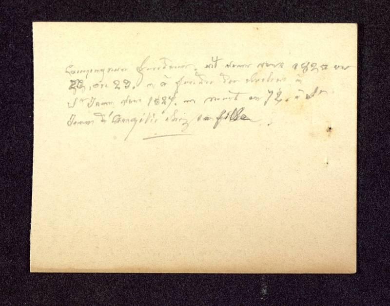 Visuel du media #1 - Notes manuscrites