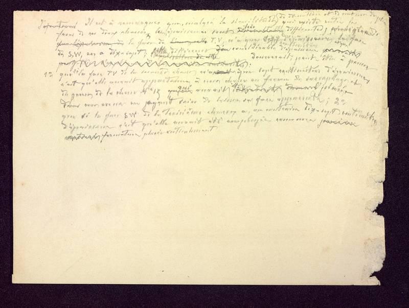 Visuel du media #7 - Notes manuscrites, Hypogée des Dunes, page 1