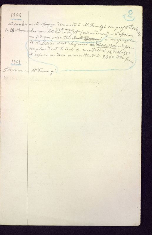 Visuel du media #9 - Lettres relatives à Saint-Jean, au Palais, à l'Hypogée, page 3