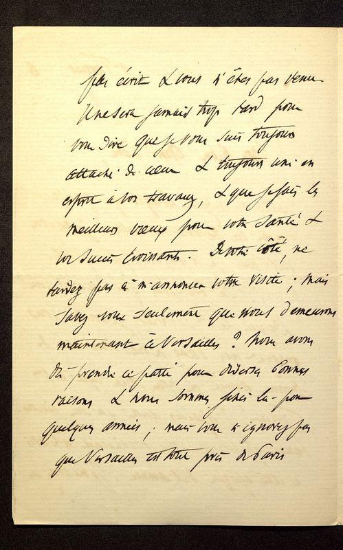 Visuel du media #4 - Lettre de Loth à De La Croix du 01 février 1886, page 2