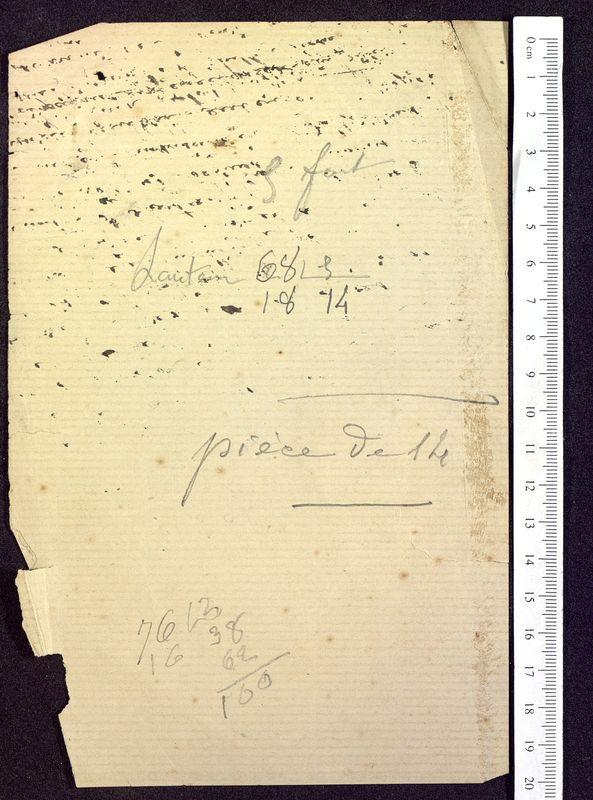 Visuel du media #2 - Notes et calculs, Pyramide de Saint-Hilaire, page 2