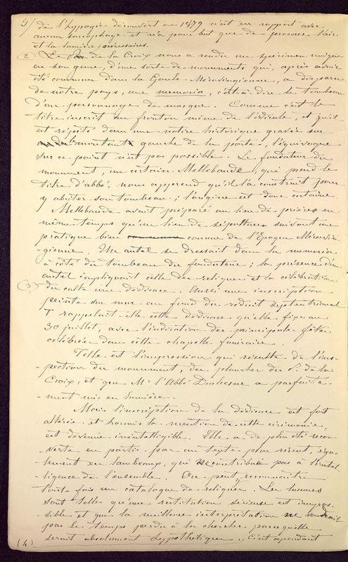 Visuel du media #12 - Observations sur le monument de Mellebaude à Poitiers, page 4