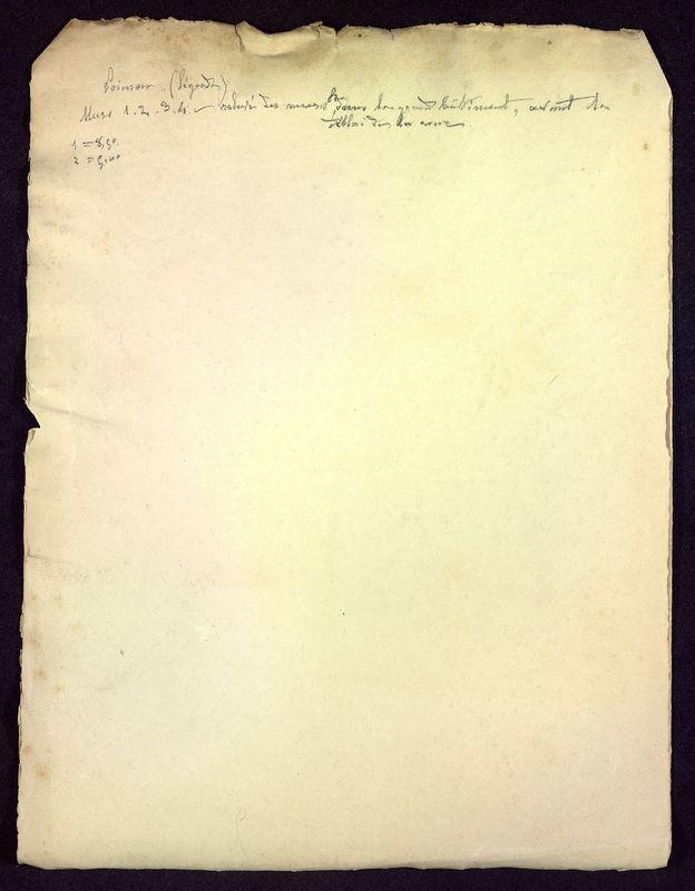Visuel du media #7 - Notes sur les fouilles, Rue Paul Bert, page 2