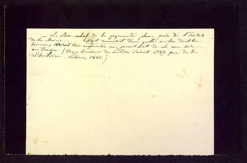 Visuel du media #8 - Notes sur le bas-relief de la pyramide de Saint-Hilaire
