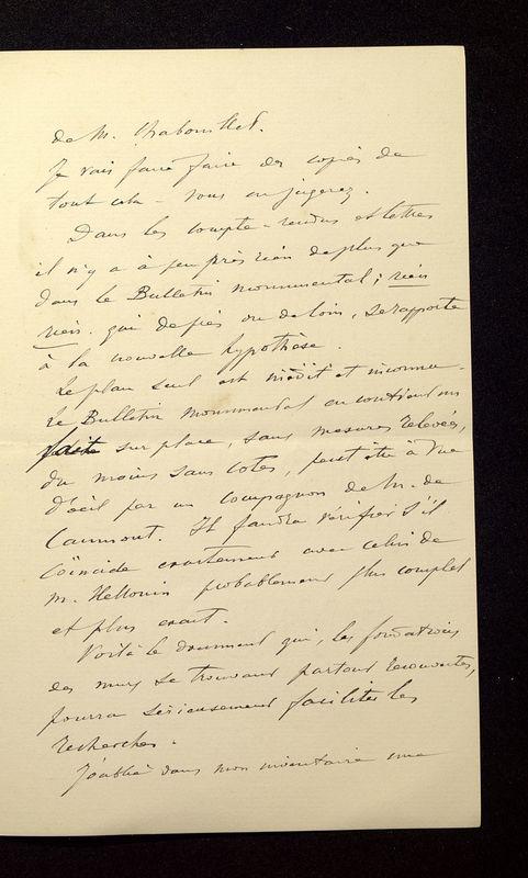 Visuel du media #10 - Lettre de Join-Lambert à De La Croix du 26 juillet 1896, page 3