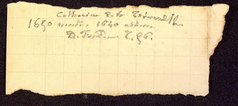 Visuel du media #7 - Notes manuscrites, page 1