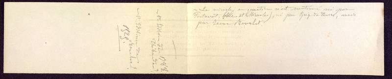 Visuel du media #9 - Notes bibliographiques, Pyramide de Saint-Hilaire, page 1