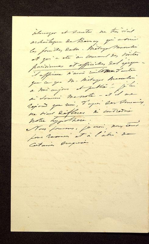 Visuel du media #4 - Lettre de Join-Lambert à De La Croix du 07 juillet 1896, page 4