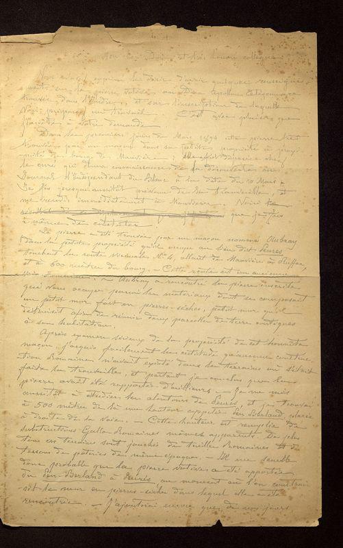 Visuel du media #10 - Lettre de Hild à Hild du 27 avril 1898, page 1