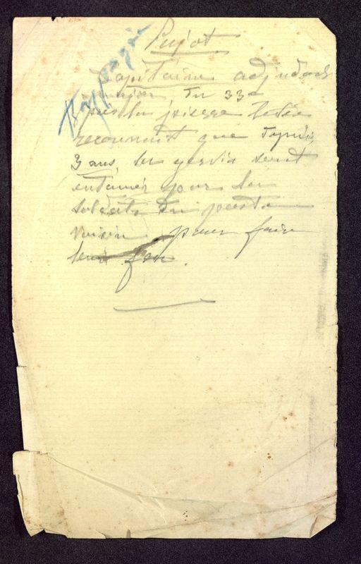 Visuel du document Notes manuscrites sur l'hypogée des Dunes à Poitiers 08