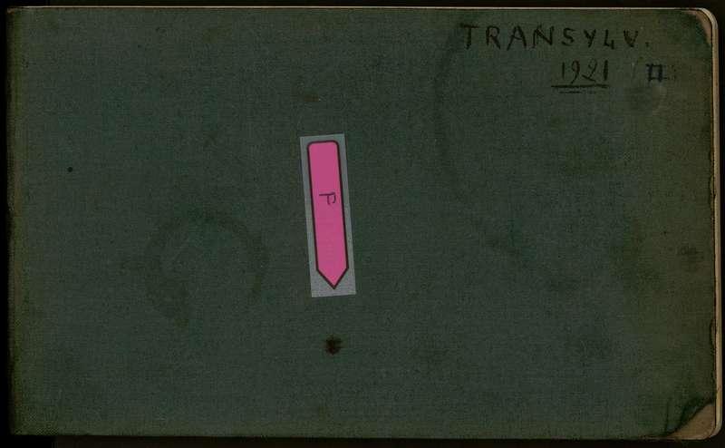 Visuel du document Carnet n°17, Roumanie (1921), Transylvanie II