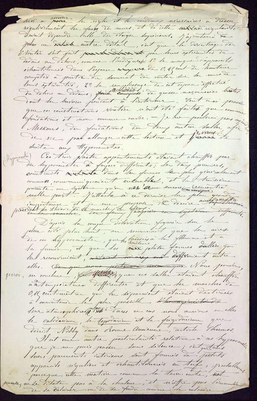 Visuel du media #4 - Les thermes de Poitiers, manuscrit communication 7 p., page 4