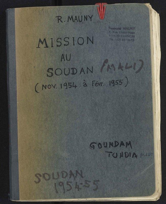 Visuel du document Mission au Soudan (Mali), novembre 1954 - février 1955