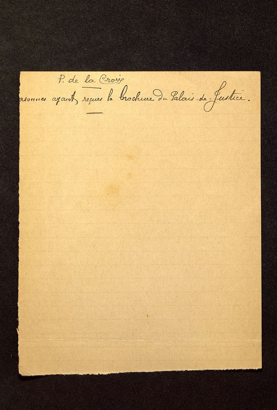 Visuel du media #10 - Lettre de De La Croix à Jullian du 13 août 1906, page 2