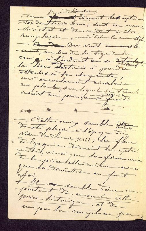 Visuel du media #3 - Notes manuscrites sur une croix, page 2