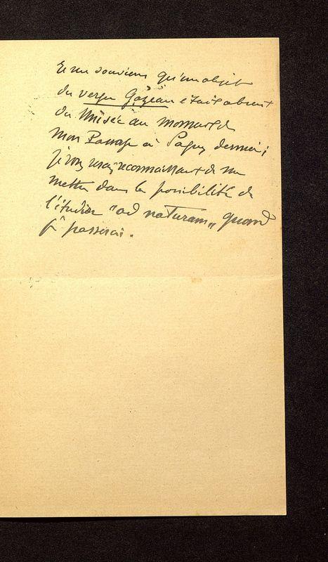 Visuel du media #5 - Lettre de Breuil à De La Croix du 30 juillet 1902, page 3