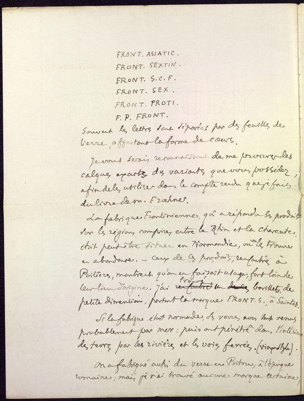 Visuel du media #2 - Lettre de Fillon à De La Croix du 14 novembre 1879, page 2