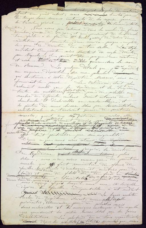 Visuel du media #5 - Les thermes de Poitiers, manuscrit communication 7 p., page 5