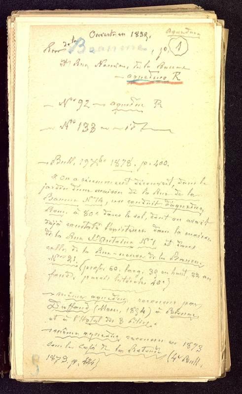 Visuel du media #7 - Fichier de notes sur les rues de Poitiers, page 7