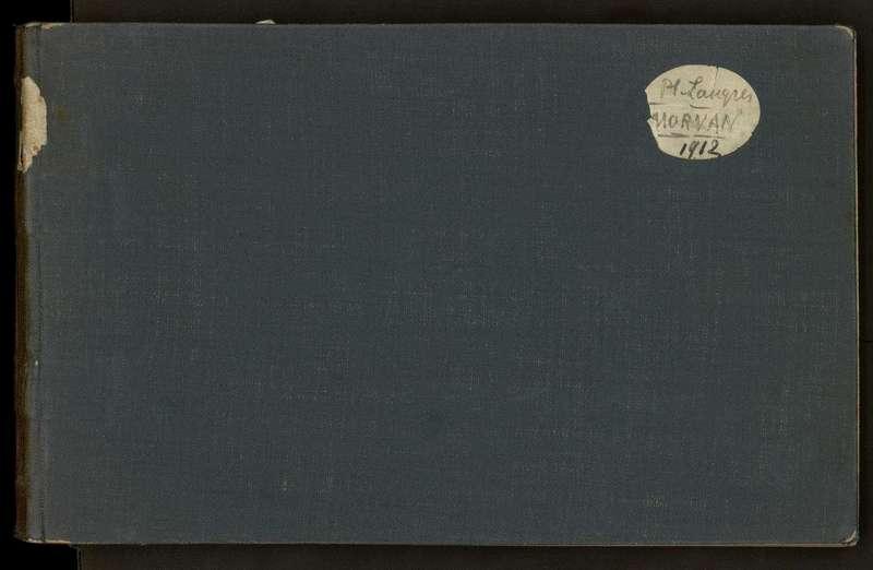 Visuel du document Carnet n°5, Plateau de Langres, Morvan (1912) et Provence (1908)