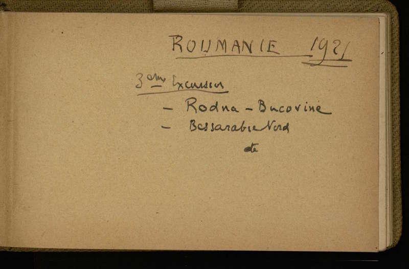 Visuel du projet Carnets d'Emmanuel de Martonne