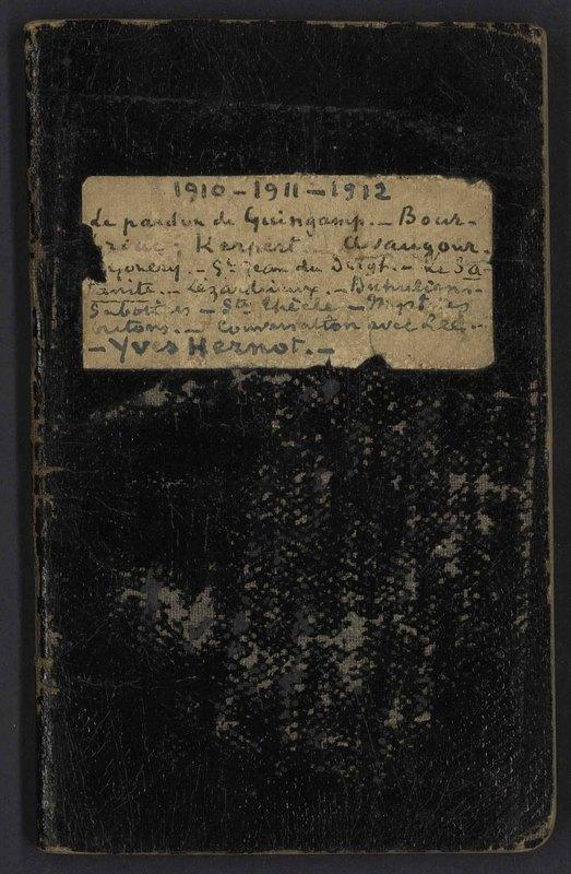 Visuel du document Carnet S, 1910-1914