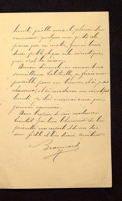 Visuel du media #3 - Lettre de Beaunard du 01 juin 1901, page 3