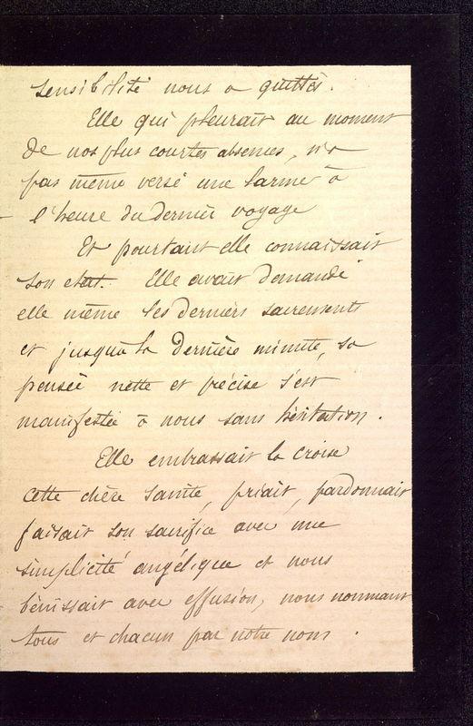 Visuel du media #3 - Lettre de Dumuÿs à De La Croix du 14 décembre 1885, page 3