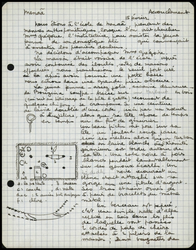 Visuel du document Notes 4-3. Accouchement, droit, éducation, funérailles, élevage