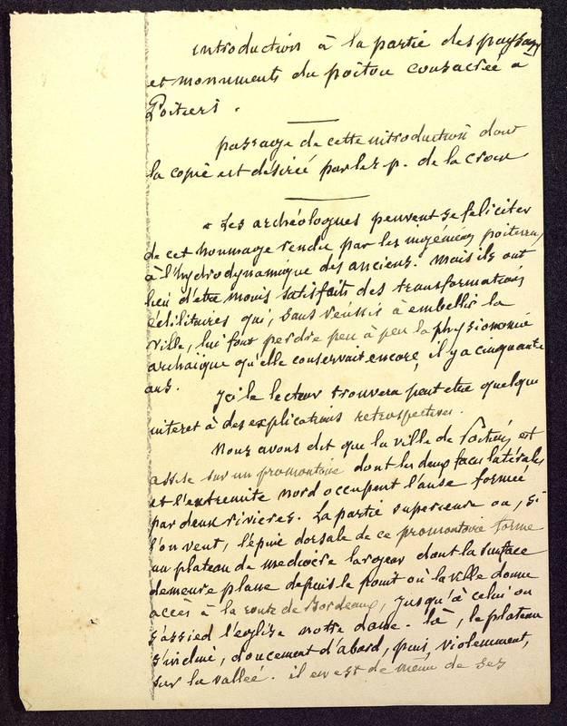 Visuel du media #10 - Paysages et monuments du Poitou, Poitiers, page 1